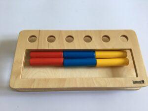 18.1 Коробочка с цилиндрами - вкладышами # Box with cylinders - inserts
