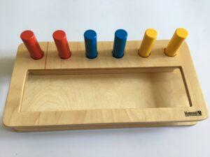 18.2 Коробочка с цилиндрами - вкладышами # Box with cylinders - inserts