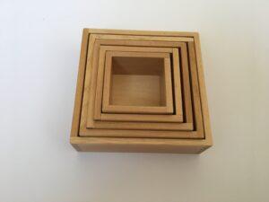 3. Вкладывающиеся коробочки # Inserting boxes
