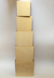 3.2 Вкладывающиеся коробочки # Inserting boxes
