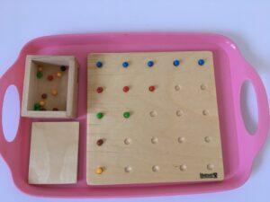 26. Доска для выкладывания бусин # Board for sorting beads