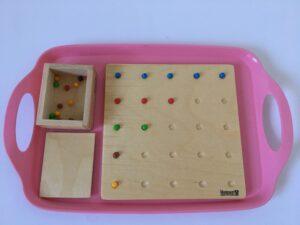 26.1 Доска для выкладывания бусин # Board for sorting beads