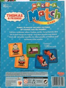 604. Match game Thomas and Friends (2)
