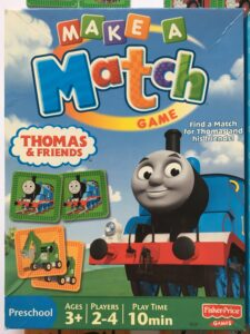 604. Match game Thomas and Friends (3)