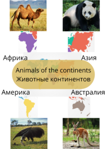139. Animals of the continents (1)